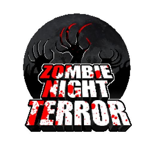 logo du jeu vidéo d'horreur zombie night terror